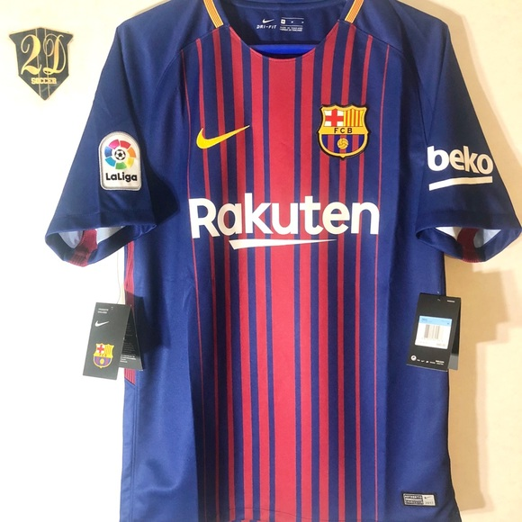brand new 23679 2db32 🤹♂️ Nike Barcelona 17/18 Home Jerseys NWT